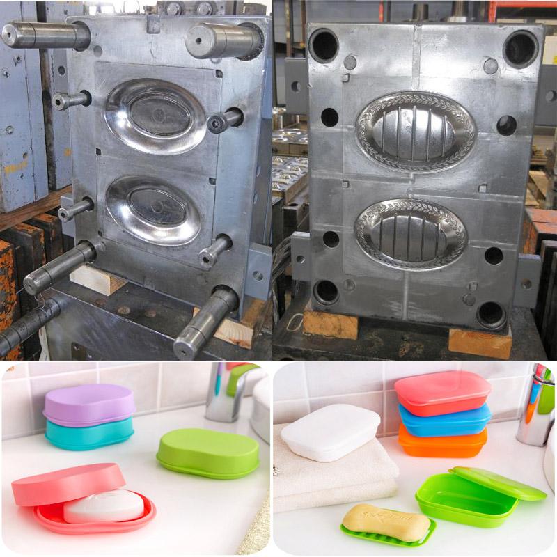 Plastic product bathroom accessories plastic soap case dish mold/soap dish plastic mould