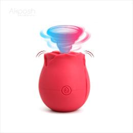 Rosebud Sucker Vibrator  Strong
