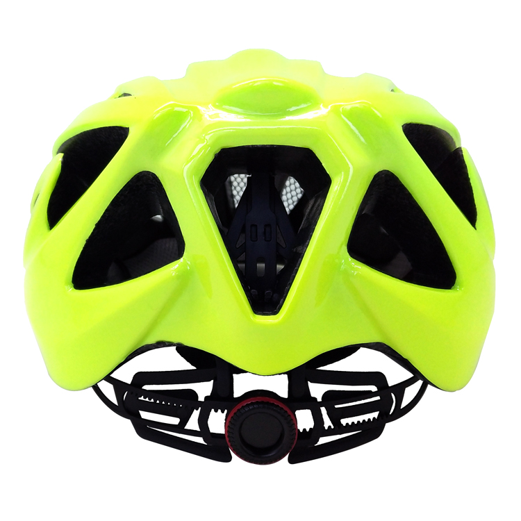Fluorescent-green-road-racing-bike-helmet