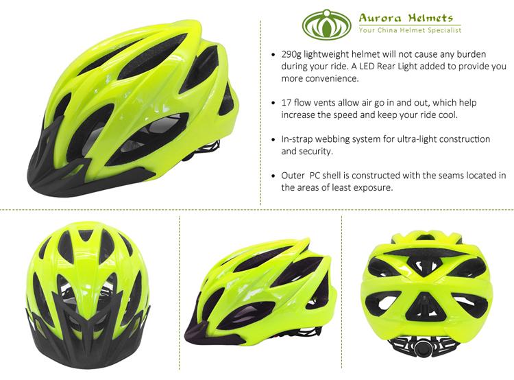 Bicycle Helmet Mountain Bike Helmet With Light 5