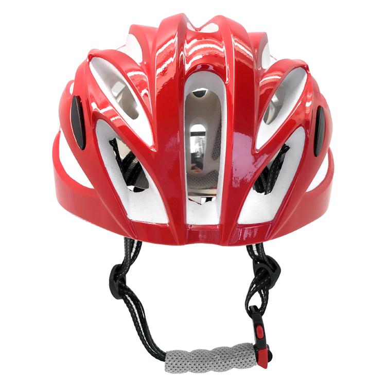Custom light weight in-mold road racing bike helmet 3