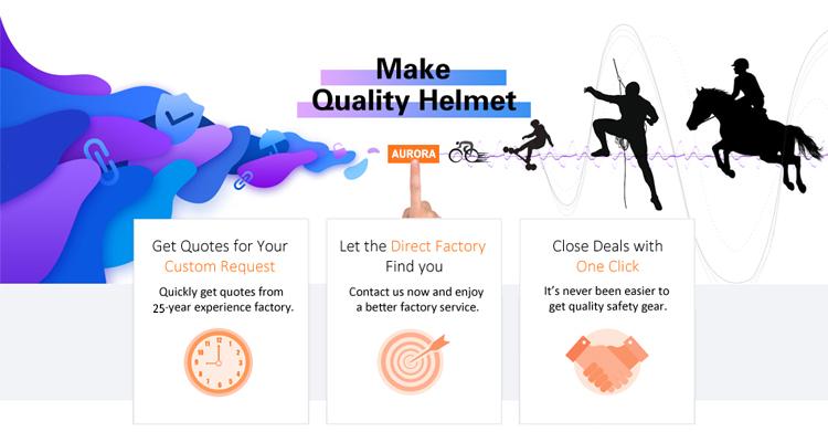 Manufacturer Girls Bike Helmet with Sun Visor