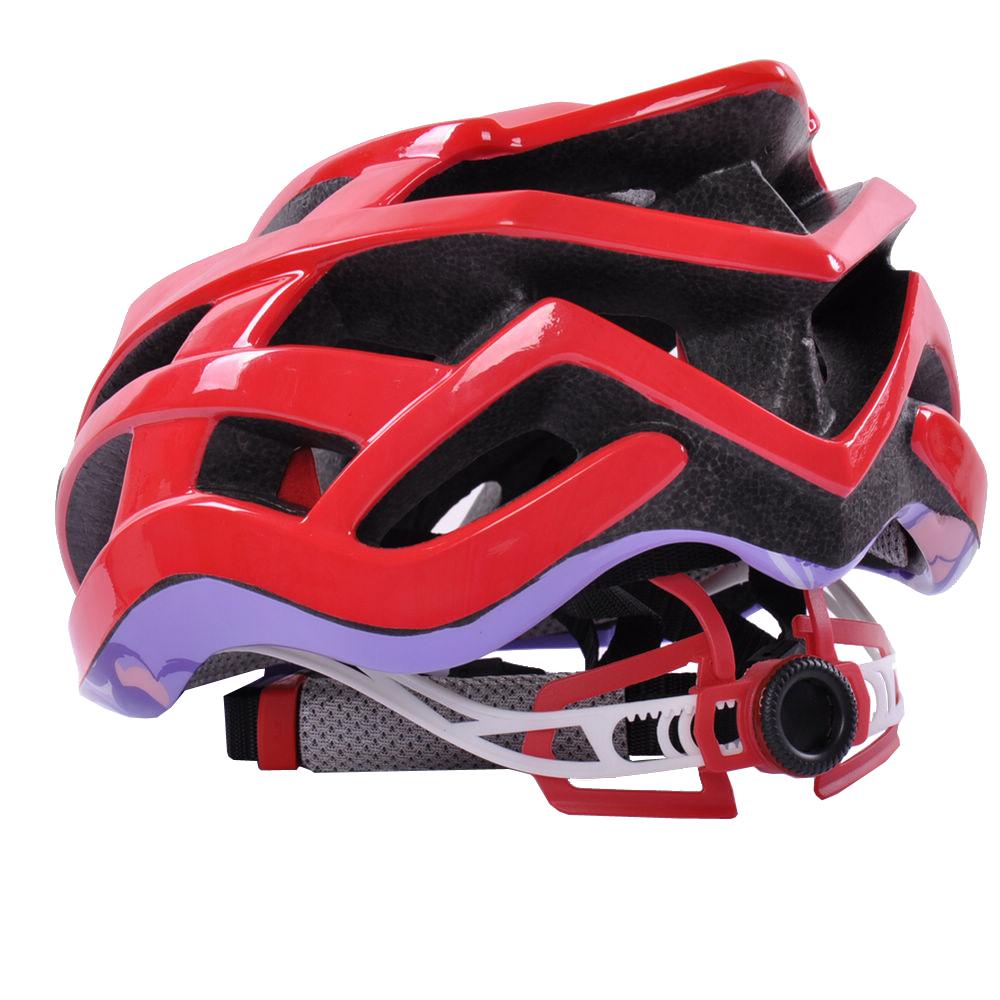 Custom Light Weight In-mold Road Racing Bike Helmet 9