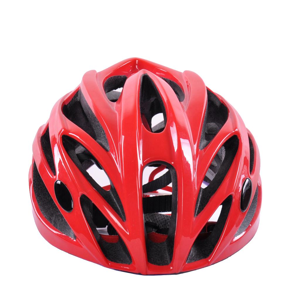 Custom Light Weight In-mold Road Racing Bike Helmet 11