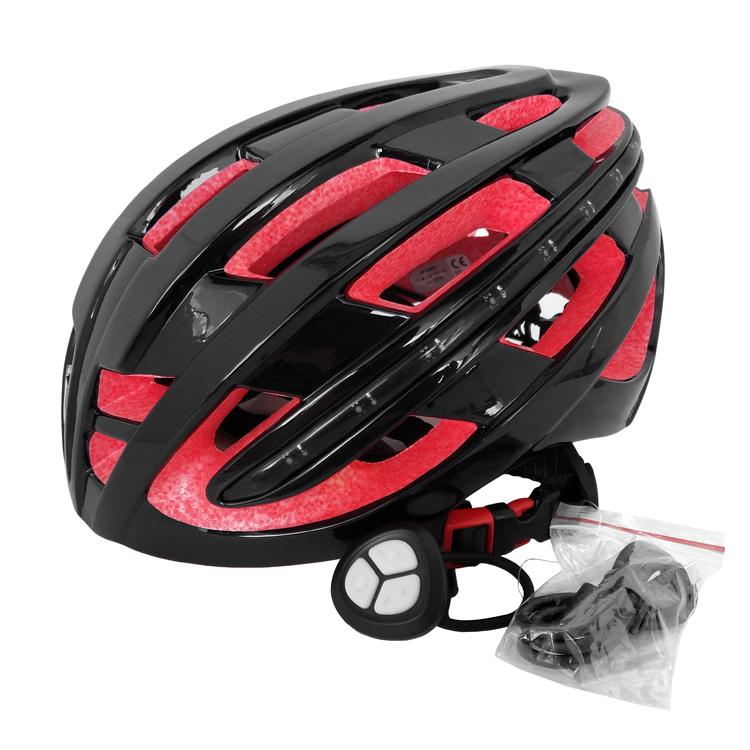 Smart Remote Control Bike Helmet With LED Light 5