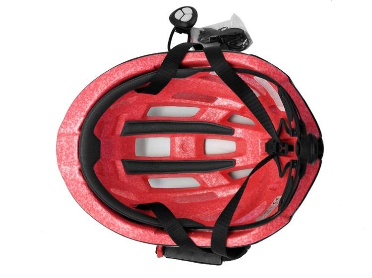 Smart Remote Control Bike Helmet With LED Light