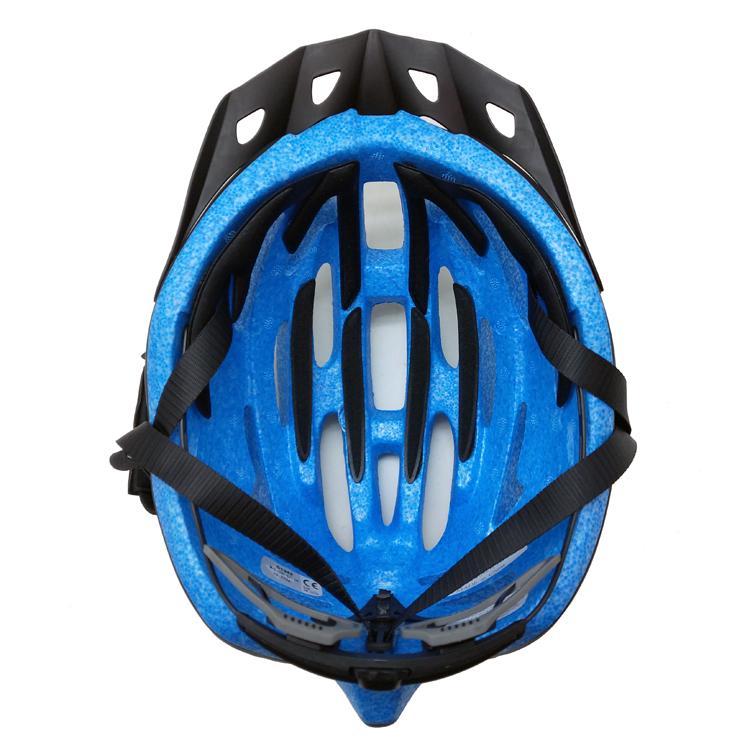 Fashion-matte-bike-helmet-sun-visor