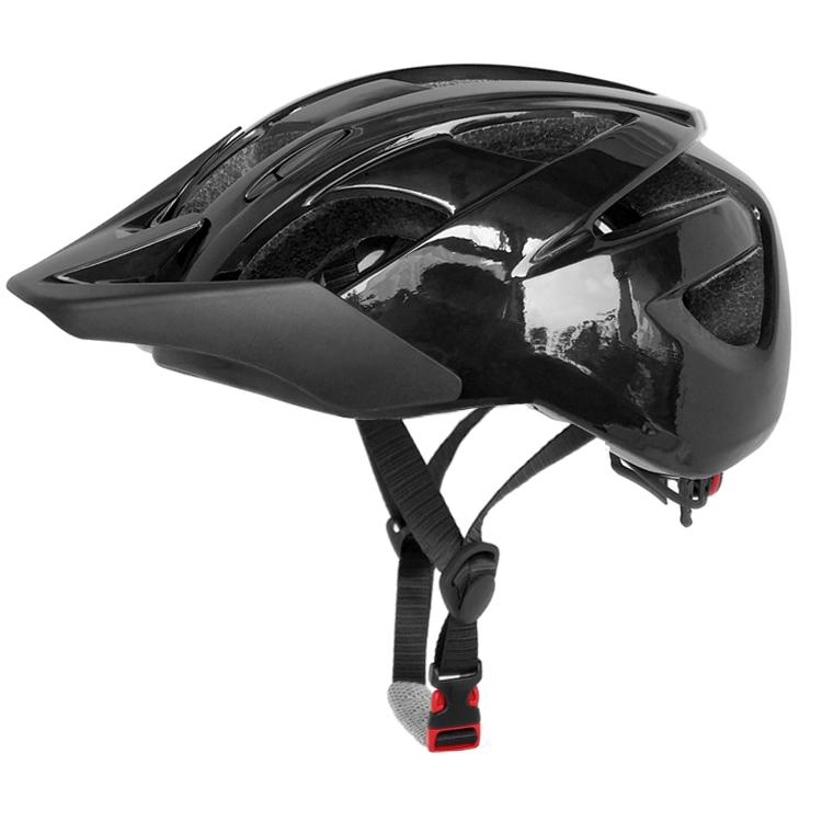 CPSC approved mountain bike helmet with sun visor 5