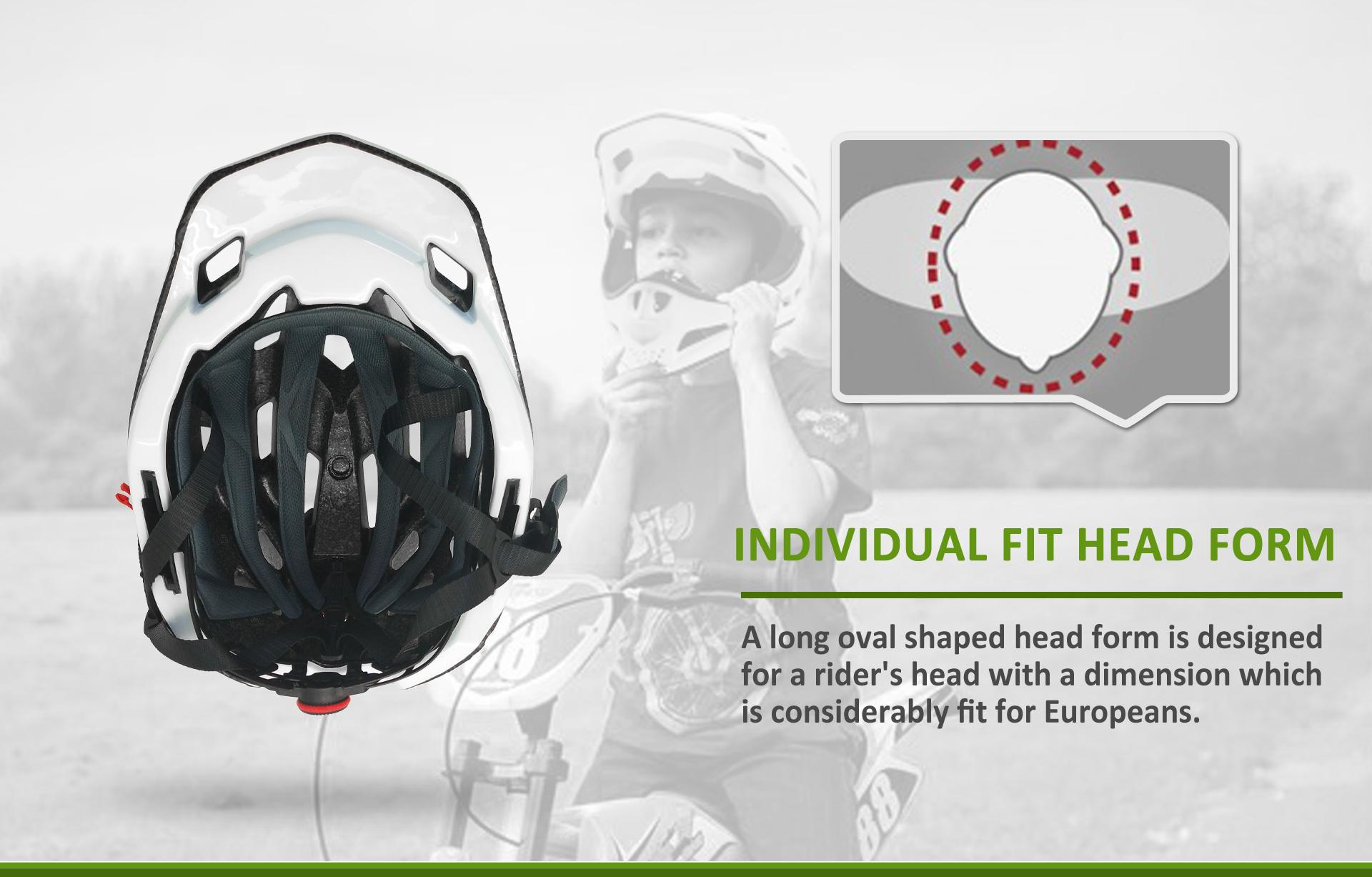 Full Face Kids Helmet 18
