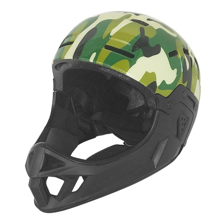 Youth Full Face Helmet Downhill Dirt BMX 3