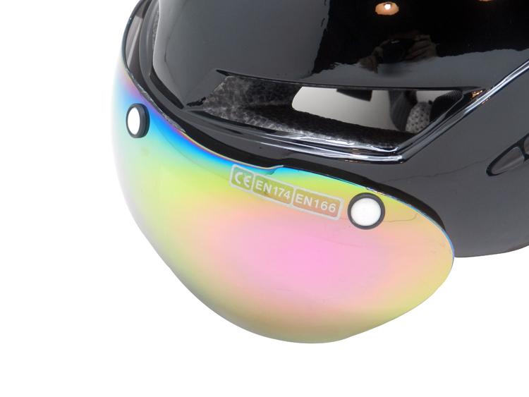 New Design TT Time Trial Helmet AU-T02 Full Cover Cycle Helmet