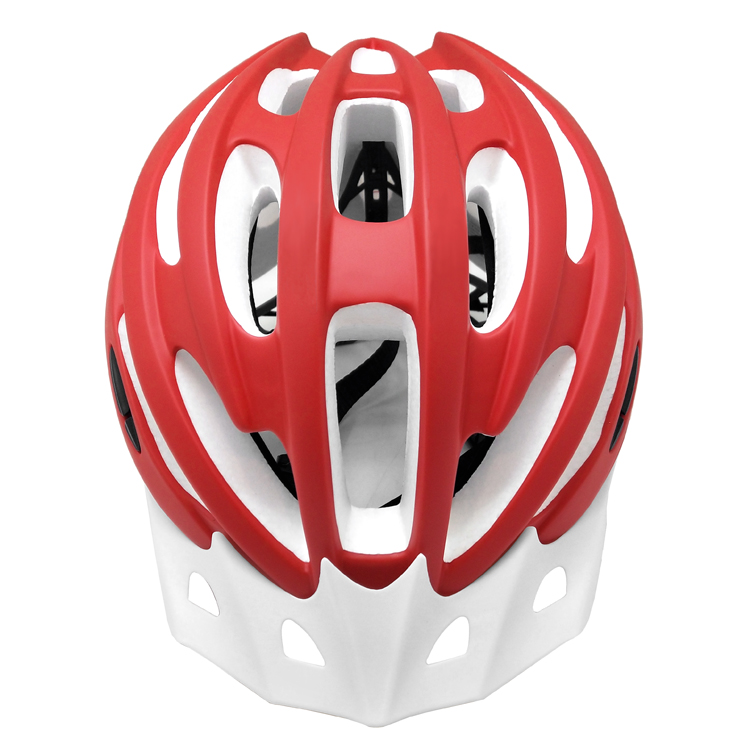 White colorful EPS bicycle casco 10
