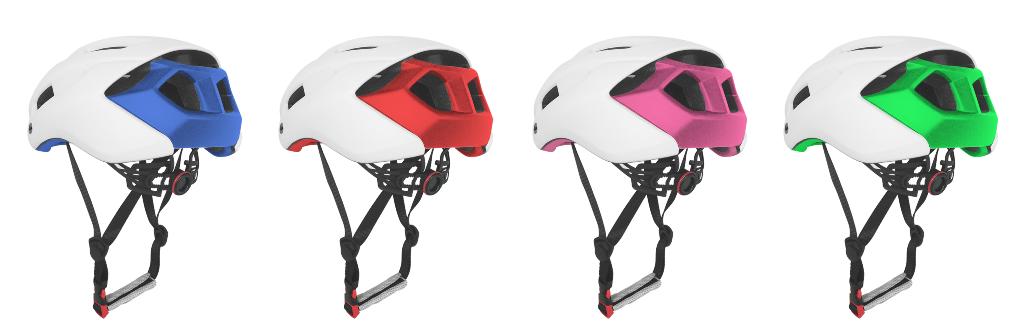 2019 slim black Enduro bicycle helmet 12