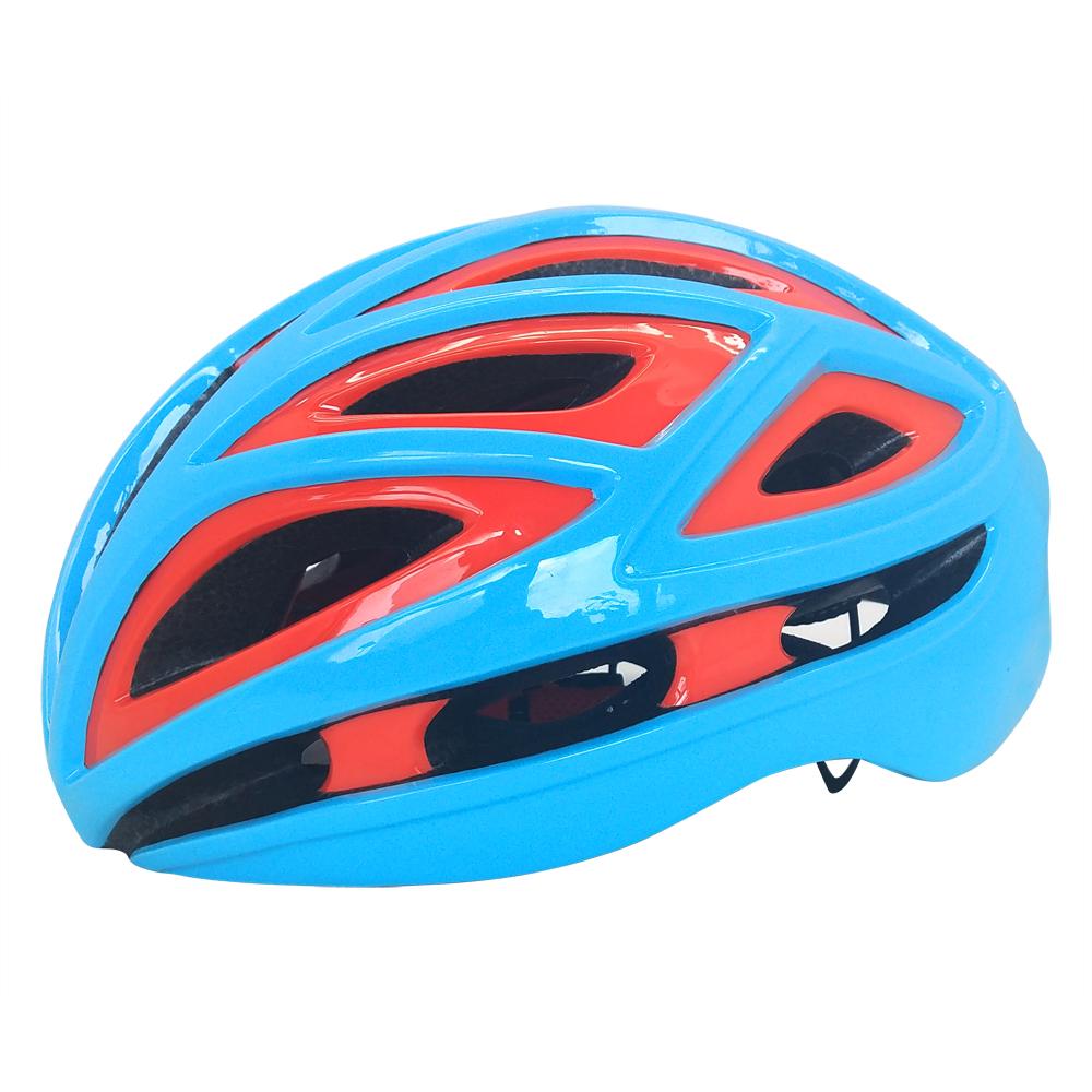 Trending Dual-shell In-mold Road Racing Bicycle Tt Helmet With Ce En1078