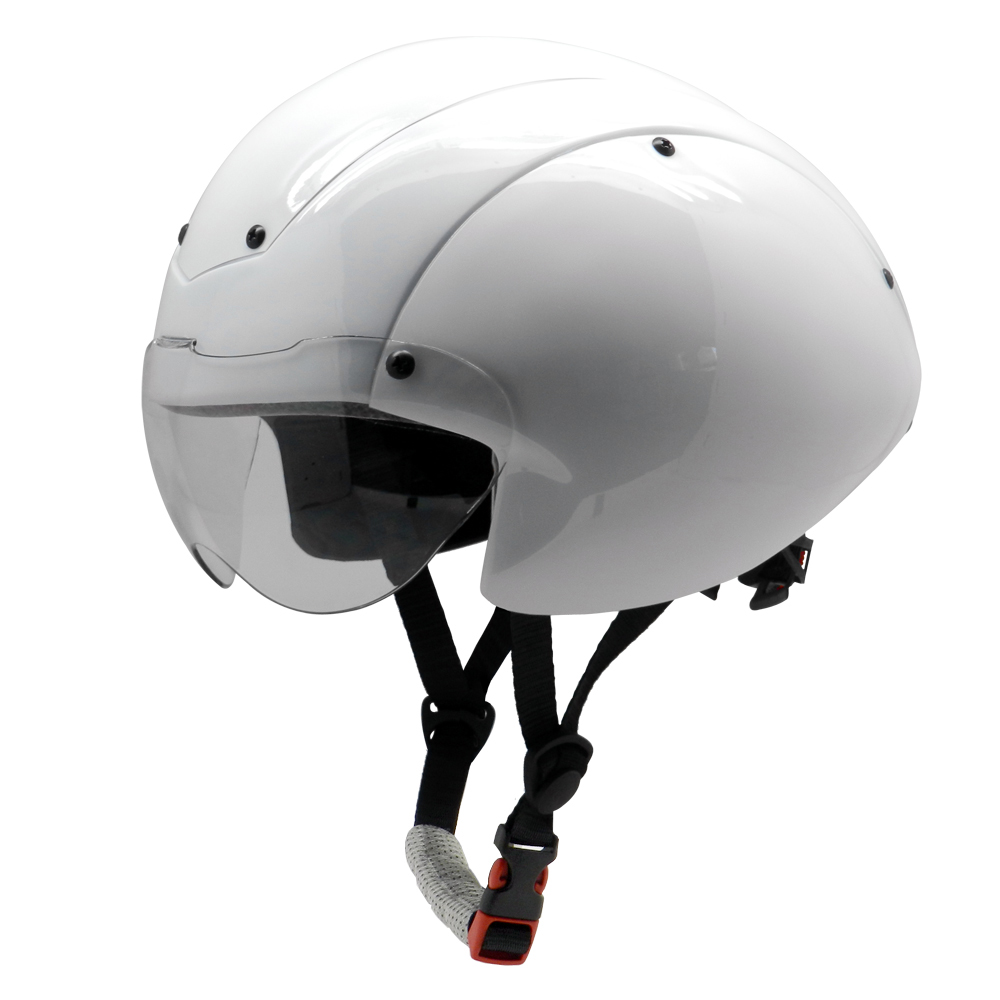 New Style In-mold Drop Design Time Trial Cycling Helmet With Certificates 5