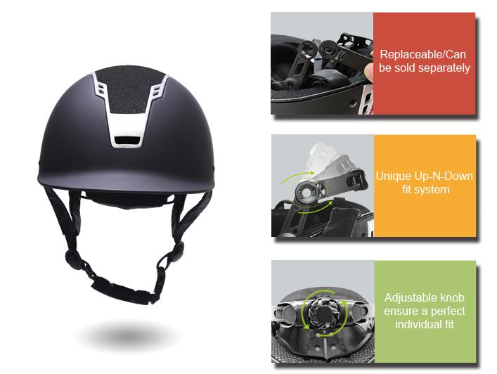 kids equestrian helmet AU-H07 Details 10