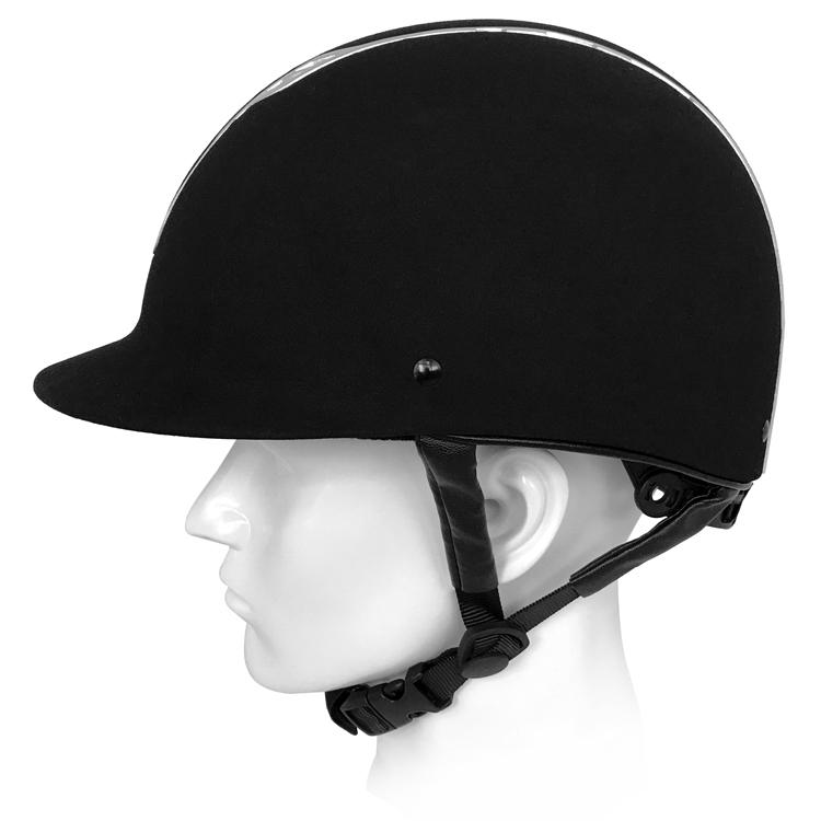 Black-Velvet-Schooling-and-Recreational-Riding-Helmet