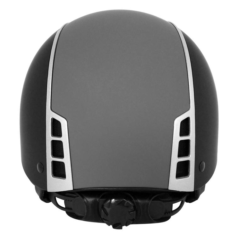 Elegant-design-ponytail-friendly-equestrian-helmet