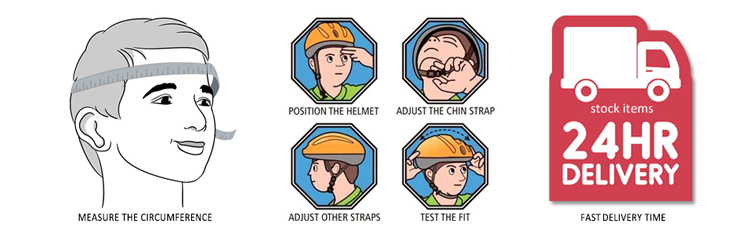 CE EN397 Comfort Protective Engineering Safety Helmets For Construction 25