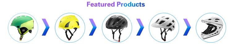European Vertical job safety helmet with waterproof headlight 4