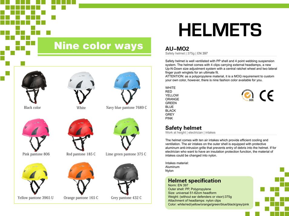 Durable Safety Work Helmet 22