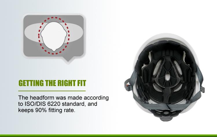 Light weight and Shock resistance Adult Climbing Helmet 7