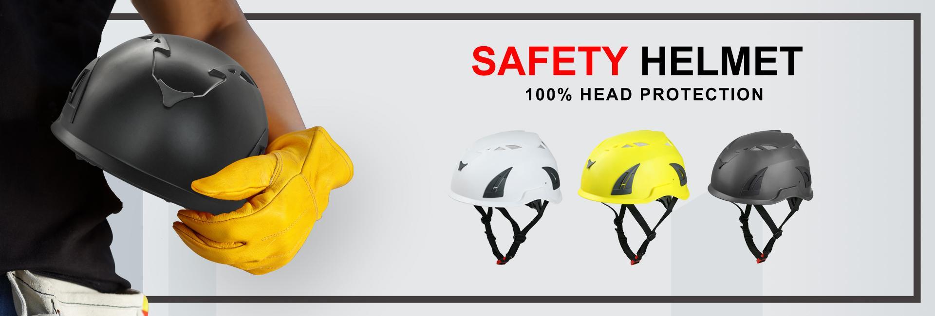 Durable black safety helmet for sawmills 5