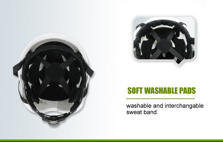 EN 397 Industrial Smart Safety Helmet For Construction/Treeclimbing/Arboriculture 11