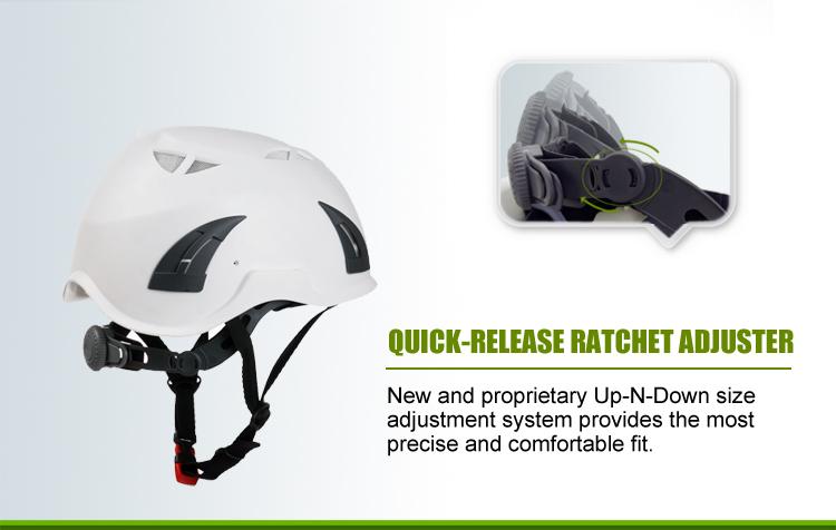 En 397 Industrial Smart Safety Helmet For Construction/treeclimbing/arboriculture 7
