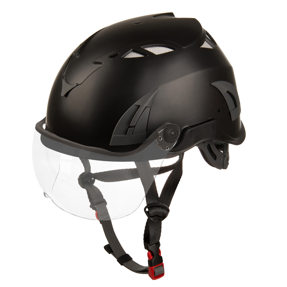 EN12492 Custom Safety Helmet Ratchet Safety Helmet