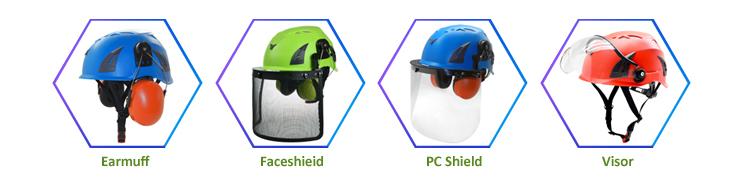 Popular multi-functional climbing safety helmet 11