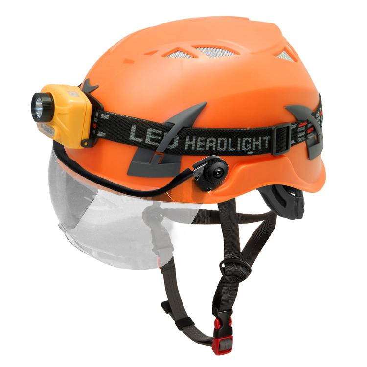 Rock climbing helmet for sale with EN certificate and visor option 10