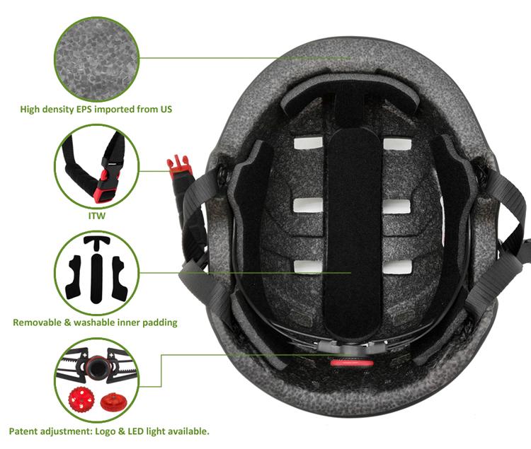 In-mold Cool Youth Skateboard Helmet 9