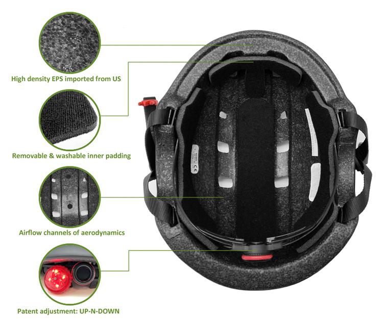 skateboard helmet AU-K001 Details 9