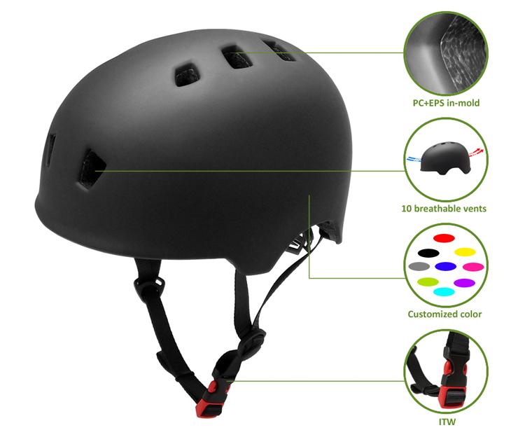 skateboard helmet AU-K001 Details 7