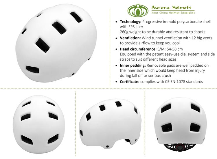 BMX Skateboard Helmet for E-Bike 3