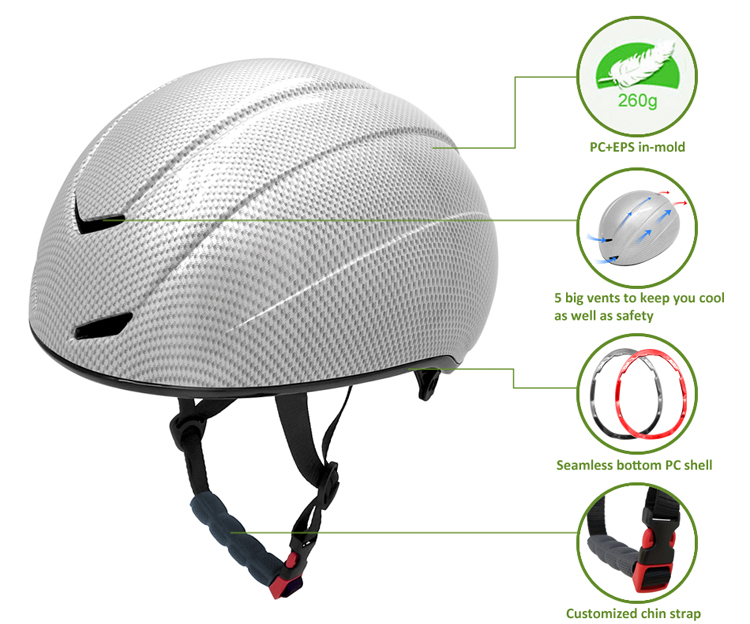 Teenager Short Track Speed Skating helmet for Events