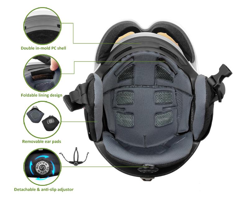 High Quality snow helmet 5
