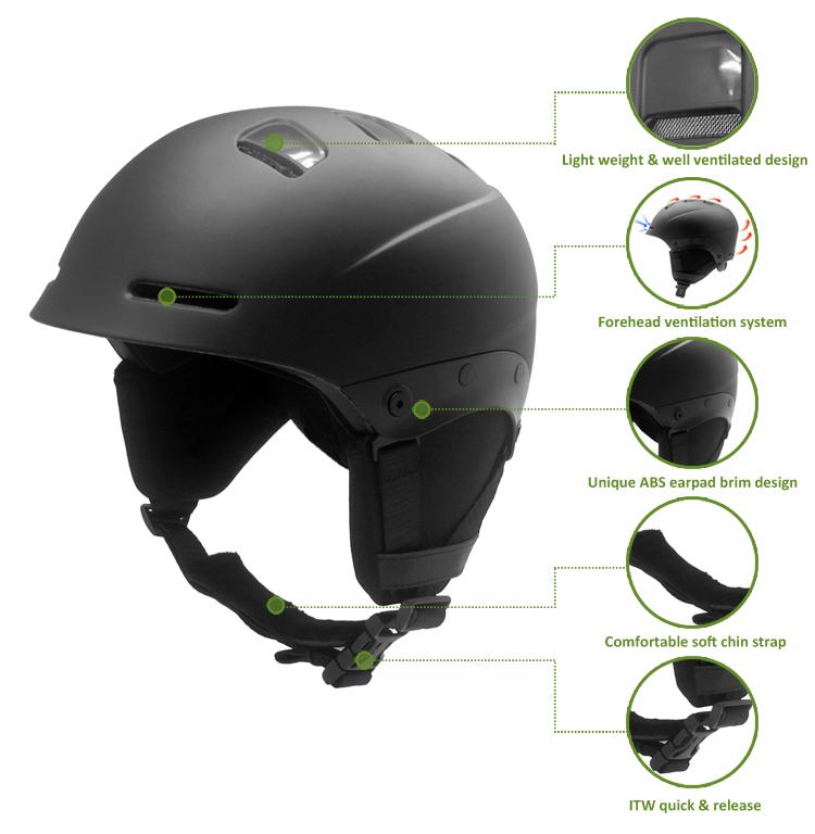 High Quality custom ski helmet 7