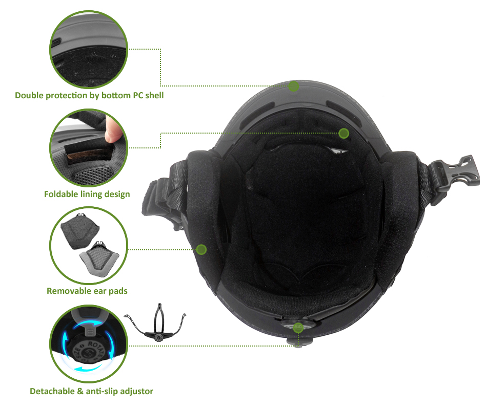 ruroc ski helmet AU-S06 Details 9