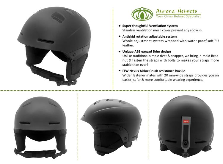 helmet snowboard AU-S06 Details 5