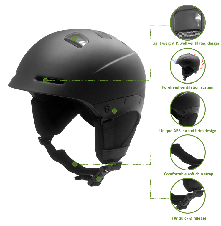 2019 New Alpine Ski Touring Helmet 10