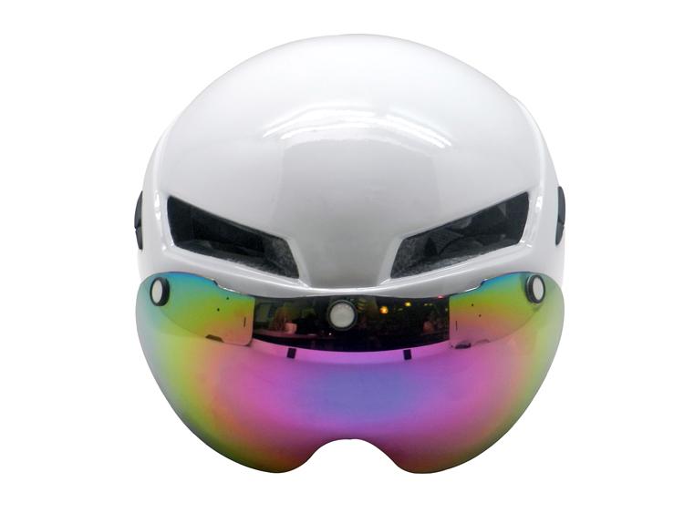 New Multi-functional Cycle Helmet TT Helmet with magnetic eye shield 3