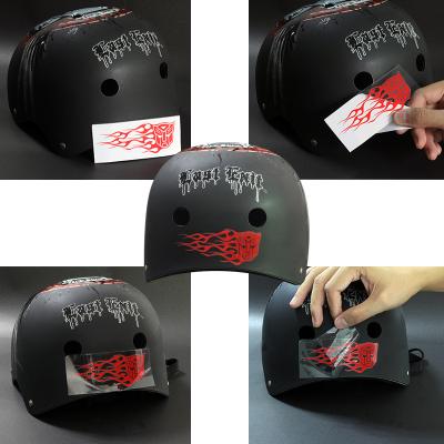Several widely used logo types for helmet branding