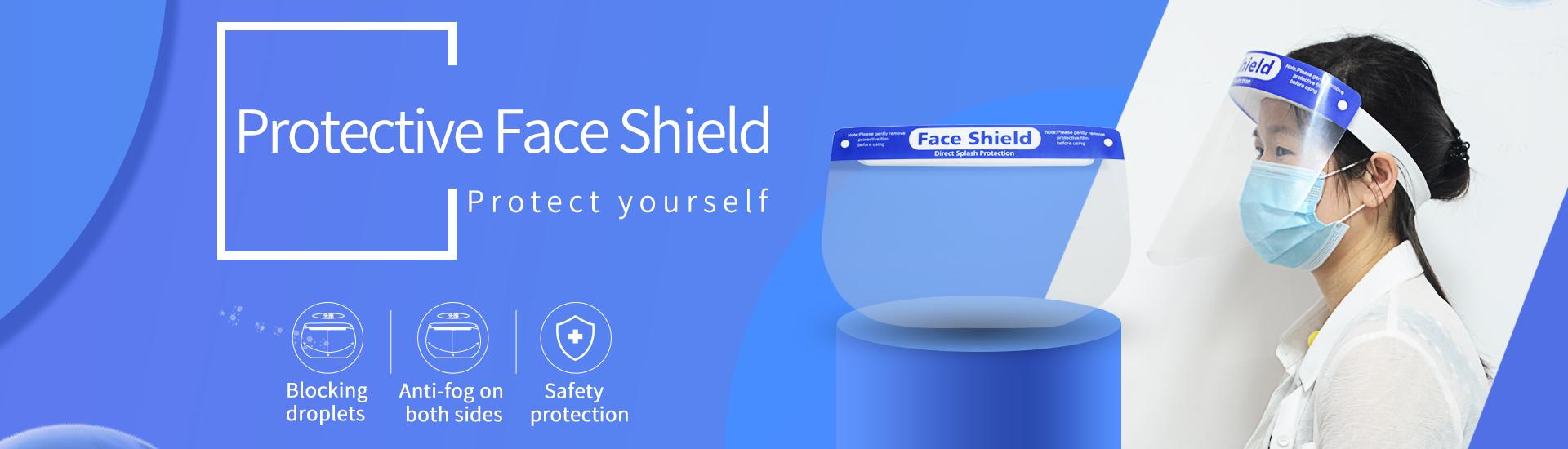 Anti-fog Full Face Shield Eye & Head