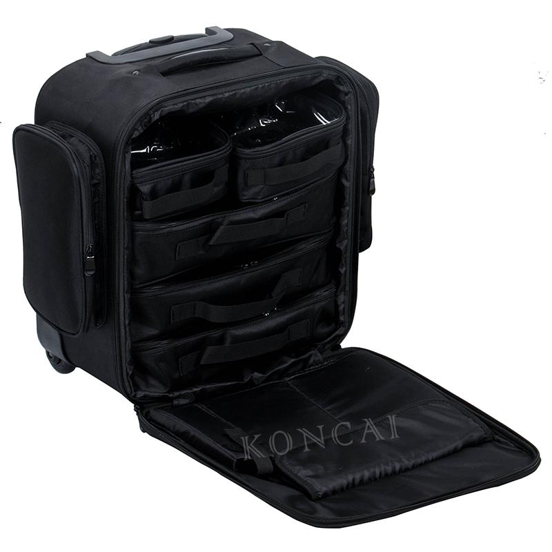 Nylon makeup trolley bag KC-N48 2