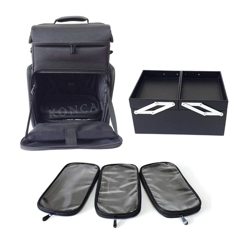 Nylon makeup trolley case 2