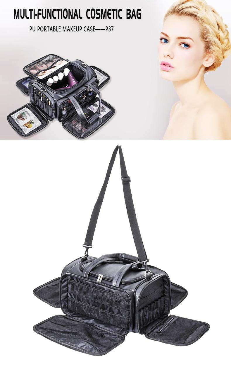 PU carrying makeup bag of KC-P37