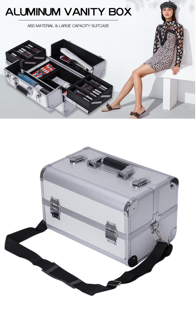 New Design Medium Size Of Vanity Box Beauty Case KC-W01BM