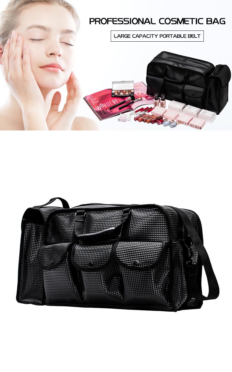 Lady High Quality PU Leather Cosmetics Bag  Beach Bag KC-CZ02P